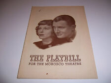 1944 MOROSCO THEATRE PLAYBILL- THE VOICE OF THE TURTLE -MARGARET SULLAVAN NUGENT