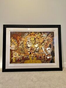 Todd Schorr THE SPECTRE OF MONSTER APPEAL Giclee 28/30 Framed With Museum Glass