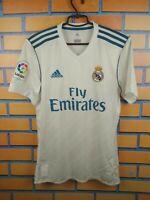 Real Madrid Jersey 2017 2018 Home S Shirt AZ8059 Soccer Football Adidas Trikot