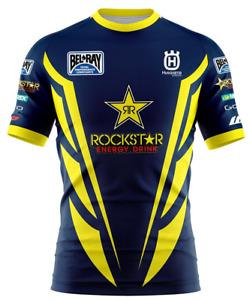 Rockstar Energy Drink Chainsaw nisex T-Shirt 3D Size S-5XL