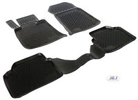 3D EXCLUSIVE TAPIS DE SOL EN CAOUTCHOUC pour BMW 3 SERIE E46 2001-2006 4pcs