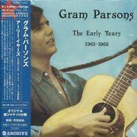 GRAM PARSONS - THE EARLY YEARS 1963 - 1965 2013 JAPAN MINI LP CD