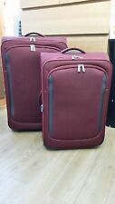 John Lewis Greenwich Set of 2 Suitcases Set in Ruby