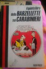 Il quinto libro delle barzellette sui carabinieri N°26 Tiger Press 1985