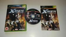 Original Xbox Jeu X-Men Legends II 2 Rise De Apocalypse X Box