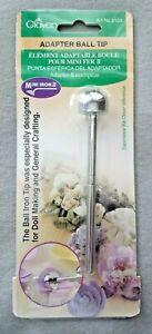 Clover Adapter Iron Tip for mini iron - Ball