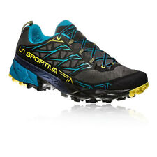 196a6de7b3908 La Sportiva Mens Akyra Trail Running Shoes Trainers Sneakers Black Blue  Sports