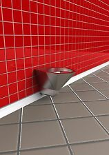 STAINLESS STEEL WALL MOUNTED WC TOILET PAN