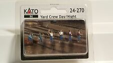 Kato N scale Yard Crew Day/night people #21-270 NIB