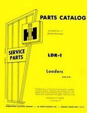 International Farmall Loader 1000 1701 2000 2001 2041 2050 3000 A Parts Manual