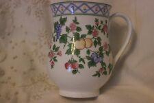 Regal Spencer Mug Cup Tasse à café Grapes Plums Pears Fruit Flowers