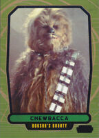 2013 Topps Star Wars Galactic Files Blue Parallel #513 Chewbacca 131/350