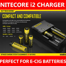 Nitecore i2 Charger Universal Battery Charger 26650 18650 18350 AA 2016 Version