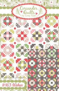 Quilt Pattern WISHES Moda CORIANDER Fat Quarter Friendly HOLLIBERRY Christmas