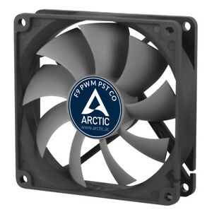 Arctic Cooling F9 PWM PST CO 90mm Quiet Case Fan 1800 RPM, 4 Pin
