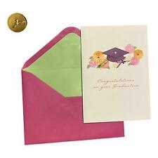 Graduation Day Greeting Card - Congratulations on your Graduation - Deluxe, Text