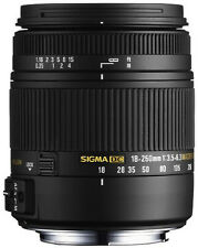 Sigma 18-250mm f3.5-6.3 DC MACRO OS HSM for Canon DSLR. U.S. Authorized Dealer