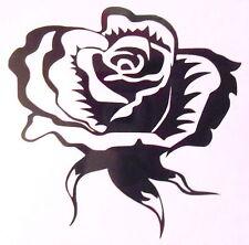 12 Fancy Rose Tile, Wall, Window Stickers / Decals / Transfers Easy Apply DIY