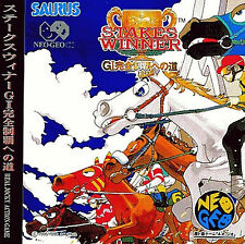 STAKES WINNER NEO GEO CD AES Import Japan