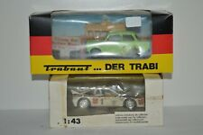 2 Vitesse cars, Trabant and Lancia in all original near mint condition in box