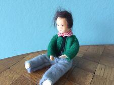 Junge  Biegepüppchen Erna Meyer Puppenstube Puppenhaus 1:12 dollhouse doll