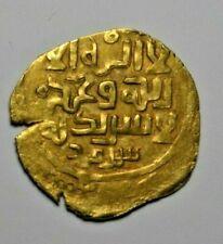 More details for mongols, temp. genghis khan, gold dinar, samarkand mint, c. 1220s, kalima type