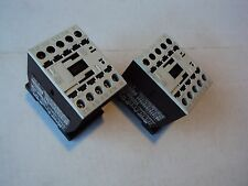 Lot of 2 Moeller DIL MP20 Contactor 3PH 600V 20A Open