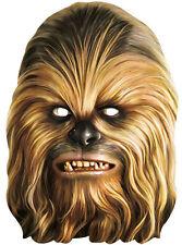 Chewbacca Maske NEU - Karneval Fasching Maske Gesicht