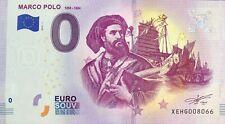 BILLET 0 EURO MARCO POLO ALLEMAGNE   2019-1  NUMERO DIVERS