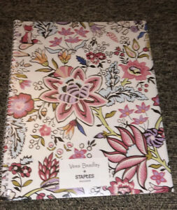 Vera Bradley Subject Notebook Maplewood Floral NIP. New In Packaging 140 Pages