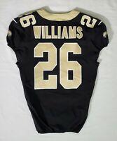 #26 P. J. Williams of New Orleans Saints NFL Locker Room Player Worn Jersey