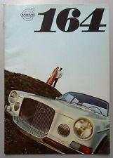 V14162 VOLVO 164 - CATALOGUE - 08/68 - A4 - FR