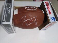 Jameis Winston # 5 Firmado Autografiado Ncaa Football con certificado de autenticidad en Caja Original