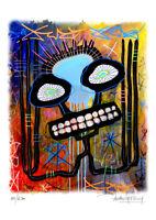 TABLEAU ART MODERNE - Street art -The Big fat Boy -  serie limitee 250 ex