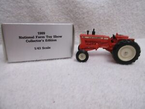 1987 Ertl Allis-Chalmers D19 tractor National Toy Show 1/43 scale & box lot T
