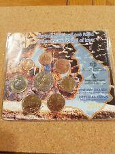 greece 2012 euro coin set 'santorini'