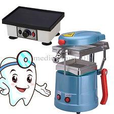 USA Dental Vacuum Forming Former Machine WITH Square Vibrator Quartet Vibrating