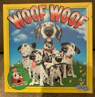 Rare - Vintage 2006 Woof Woof Electronic Board Game By Gibsons - Complete