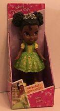 Disney Princess Toddler Doll Mini Tiana Posable Figure Sparkle Collection Toy
