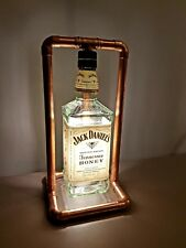 Jack Daniels bottle retro copper led lamp