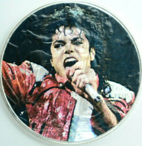 Michael Jackson American Silver Eagle 1oz .999 Limited Edition Dollar Coin