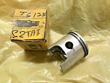 Suzuki RV125 TC125 TS125 Piston 56.5mm&Ring Set 0.50 NEW Aftermarket TAIWAN