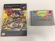 Tiny Toon Adventures: Buster Busts Loose Super Nintendo JAPAN IMPORT