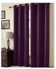 "42"" x 108"" Burgundy Blackout curtain panel - Victoria Classics McKenzie Twill"