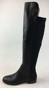Corso Como Laura Over The Knee Boots Women's Size 6 M, Black Nappa 3282