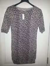 Old Navy snow leopard tunic/ dress Size M