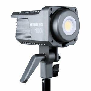 US Stock Aputure Amaran 100D Daylight LED lights 5600K  DC/AC Power Supply