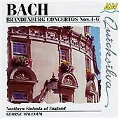 Bach - Brandenberg Concerto 4-6 Northern Sinfonia of England George Malcolm (CD)