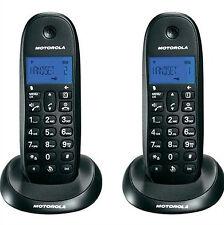 Teléfono Inalámbrico Motorola C1002 negro
