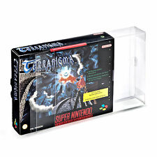 2 Klarsicht Schutzhüllen SNES Big Box [2 x 0,3MM SNES BIG BOX OVP]